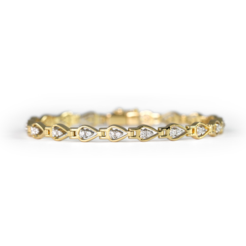 LAVERA  Diamond Bracelet HB38009/38GM