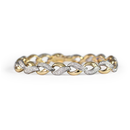 LAVERA  Diamond Bracelet HB40002/40GM