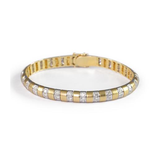 LAVERA  Diamond Bracelet HB53004/53GM