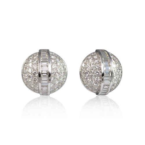 LAVERA Diamond Earrings HE00301/38GM