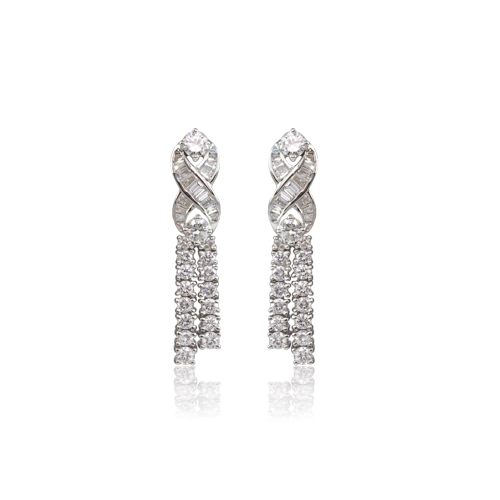 LAVERA Diamond Earrings HE00400/38GM