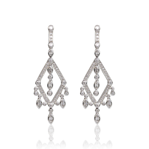 LAVERA Diamond Earrings HE50006/50GM