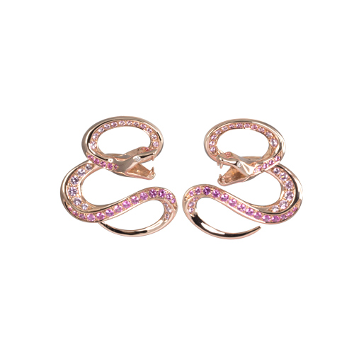 LAVERA Pink Sapphire Earrings LE56001/00GM