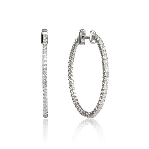 LAVERA Diamond Earrings PSE150915_01