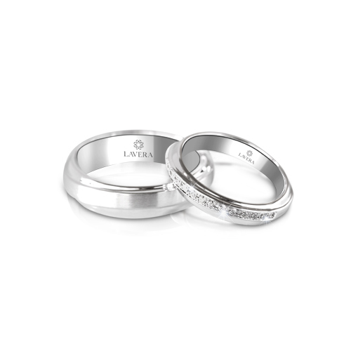 LAVERA Couple Rings LR59026/01GM LM59003/01GM