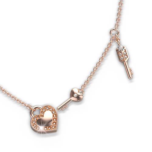 Diamond Lock & Key Collection - 2 Keys A02