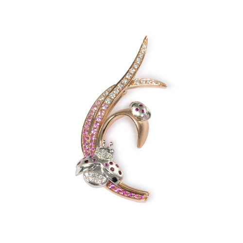 LAVERA  Diamond Brooch & Pendant
