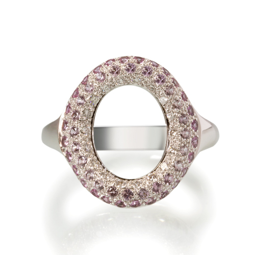 LAVERA Pink Sapphire and Diamond Ring HR60003/60GM