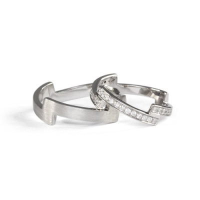 LAVERA Couple Rings LR59033/01GM LM59005/01GM