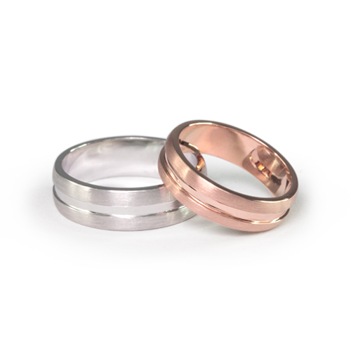 LAVERA Couple Rings HR60008/60GM HM60001/60GM