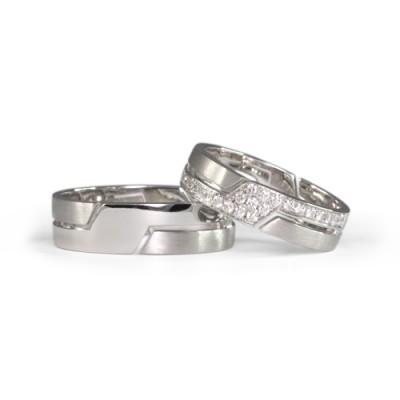 LAVERA Couple Rings LR60043/01GM LM60007/01GM