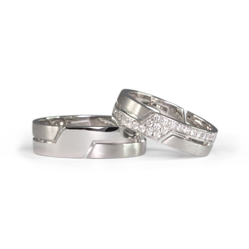 LAVERA Couple Rings LR60043/01GM LM60007/01GM