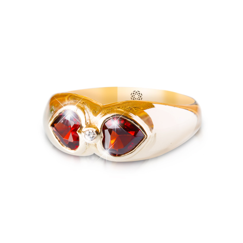LAVERA Garnet and Diamond Ring HR01332/38GP