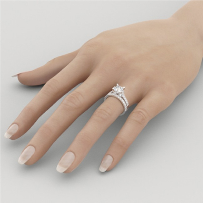 Wear Your Wedding Jewelry But Most Brides Love To Their Rings Together On The Ring Finger Of Left Hand In A Beautiful Bridal Set